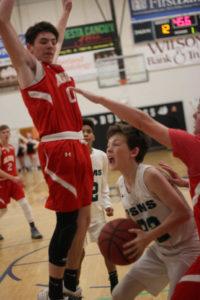 PSMS Basketball vs AMS 12-13-18-17