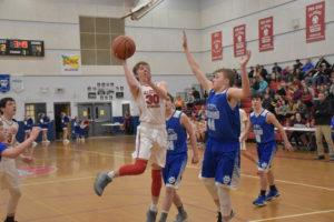 AMS Basketball vs Allardt 1-15-19-41