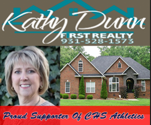 Kathy Dunn Ad for CHS FB:BB