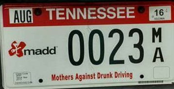 "Effort to ""Renew"" MADD Specialty License Plate Continues 
