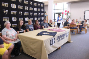 Hannah West Signs VB with Cumberland University 5-8-19-11