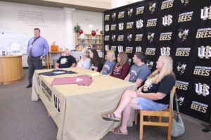 Hannah West Signs VB with Cumberland University 5-8-19-14