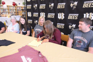 Hannah West Signs VB with Cumberland University 5-8-19-16