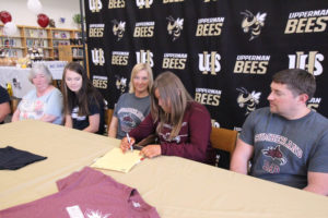 Hannah West Signs VB with Cumberland University 5-8-19-17