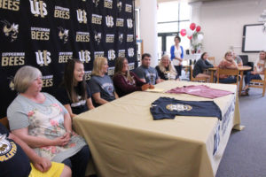 Hannah West Signs VB with Cumberland University 5-8-19-19