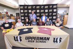 Hannah West Signs VB with Cumberland University 5-8-19-20