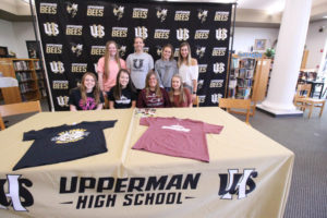 Hannah West Signs VB with Cumberland University 5-8-19-26