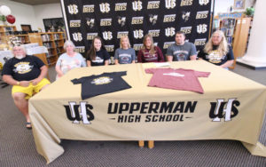 Hannah West Signs VB with Cumberland University 5-8-19-3
