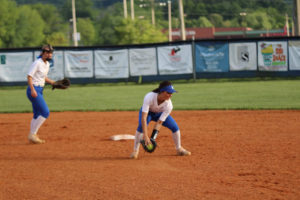 LA Softball Falls to Marion County 10 - 0 5-13-19 by Gracie-14