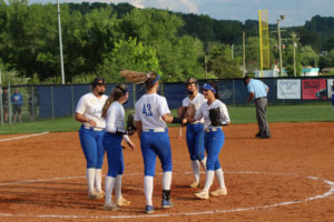 LA Softball Falls to Marion County 10 - 0 5-13-19 by Gracie-24