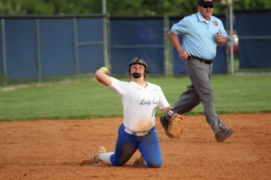 LA Softball Falls to Marion County 10 - 0 5-13-19 by Gracie-48