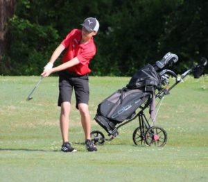 Middle school golf 9