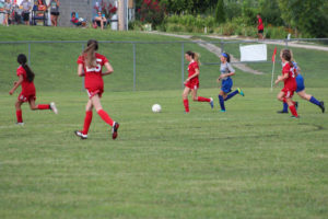 AMS Lady Redskins Soccer Commands Victory over JCMS 8-12-19 by David-11