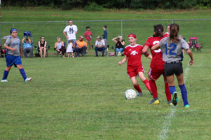 AMS Lady Redskins Soccer Commands Victory over JCMS 8-12-19 by David-15