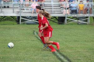 AMS Lady Redskins Soccer Commands Victory over JCMS 8-12-19 by David-16