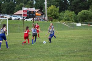 AMS Lady Redskins Soccer Commands Victory over JCMS 8-12-19 by David-18