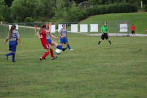 AMS Lady Redskins Soccer Commands Victory over JCMS 8-12-19 by David-19