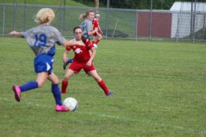 AMS Lady Redskins Soccer Commands Victory over JCMS 8-12-19 by David-21