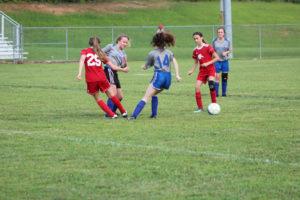 AMS Lady Redskins Soccer Commands Victory over JCMS 8-12-19 by David-23