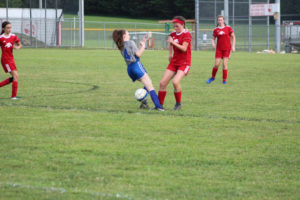 AMS Lady Redskins Soccer Commands Victory over JCMS 8-12-19 by David-24