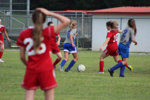 AMS Lady Redskins Soccer Commands Victory over JCMS 8-12-19 by David-25