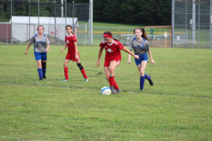 AMS Lady Redskins Soccer Commands Victory over JCMS 8-12-19 by David-26