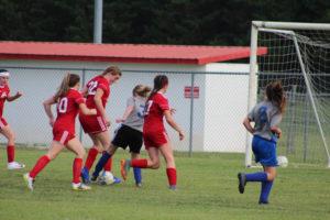 AMS Lady Redskins Soccer Commands Victory over JCMS 8-12-19 by David-27