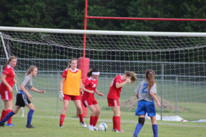 AMS Lady Redskins Soccer Commands Victory over JCMS 8-12-19 by David-29