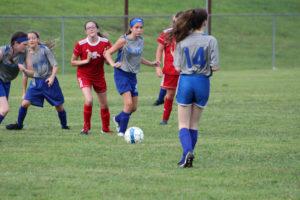 AMS Lady Redskins Soccer Commands Victory over JCMS 8-12-19 by David-3