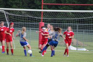 AMS Lady Redskins Soccer Commands Victory over JCMS 8-12-19 by David-30