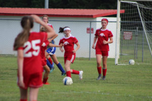 AMS Lady Redskins Soccer Commands Victory over JCMS 8-12-19 by David-31