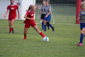 AMS Lady Redskins Soccer Commands Victory over JCMS 8-12-19 by David-32