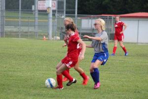 AMS Lady Redskins Soccer Commands Victory over JCMS 8-12-19 by David-33