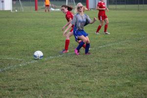 AMS Lady Redskins Soccer Commands Victory over JCMS 8-12-19 by David-38