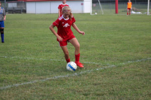 AMS Lady Redskins Soccer Commands Victory over JCMS 8-12-19 by David-39