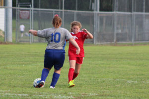 AMS Lady Redskins Soccer Commands Victory over JCMS 8-12-19 by David-4