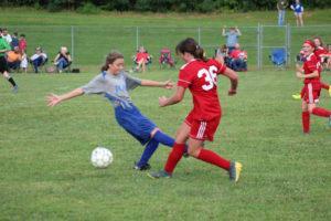 AMS Lady Redskins Soccer Commands Victory over JCMS 8-12-19 by David-41
