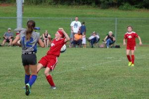 AMS Lady Redskins Soccer Commands Victory over JCMS 8-12-19 by David-42