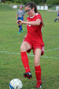 AMS Lady Redskins Soccer Commands Victory over JCMS 8-12-19 by David-43