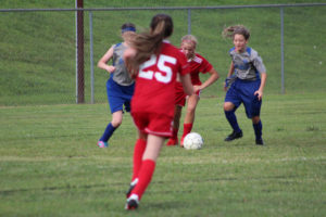AMS Lady Redskins Soccer Commands Victory over JCMS 8-12-19 by David-44