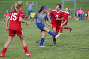 AMS Lady Redskins Soccer Commands Victory over JCMS 8-12-19 by David-46