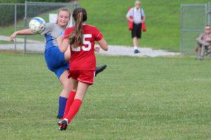 AMS Lady Redskins Soccer Commands Victory over JCMS 8-12-19 by David-47