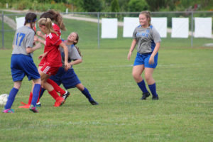 AMS Lady Redskins Soccer Commands Victory over JCMS 8-12-19 by David-48