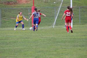 AMS Lady Redskins Soccer Commands Victory over JCMS 8-12-19 by David-51