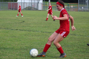 AMS Lady Redskins Soccer Commands Victory over JCMS 8-12-19 by David-55