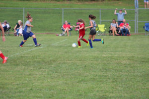 AMS Lady Redskins Soccer Commands Victory over JCMS 8-12-19 by David-56