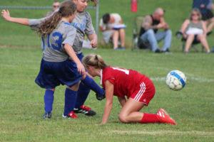 AMS Lady Redskins Soccer Commands Victory over JCMS 8-12-19 by David-57