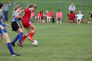 AMS Lady Redskins Soccer Commands Victory over JCMS 8-12-19 by David-6
