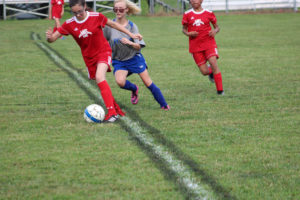 AMS Lady Redskins Soccer Commands Victory over JCMS 8-12-19 by David-7