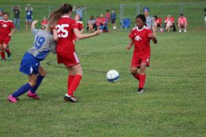 AMS Lady Redskins Soccer Commands Victory over JCMS 8-12-19 by David-8